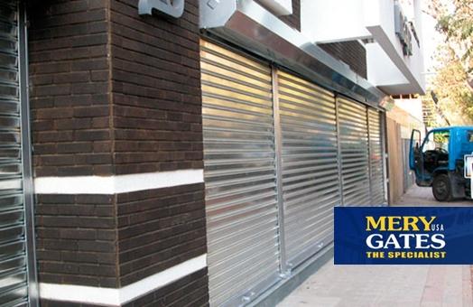 Puertas metalicas de garaje perfect en puertas automticas for 30x40 costo del garage